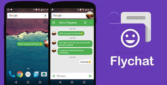 تطبيق flychat