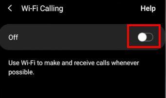 تفعيل مكالمات الواي فاي في الأندرويد 3