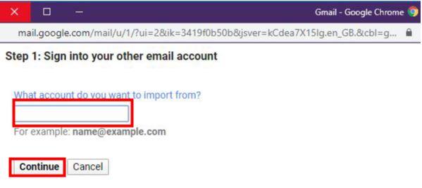 نقل البريد الإلكتروني من ايميل جيميل قديم الى ايميل جيميل جديد 4