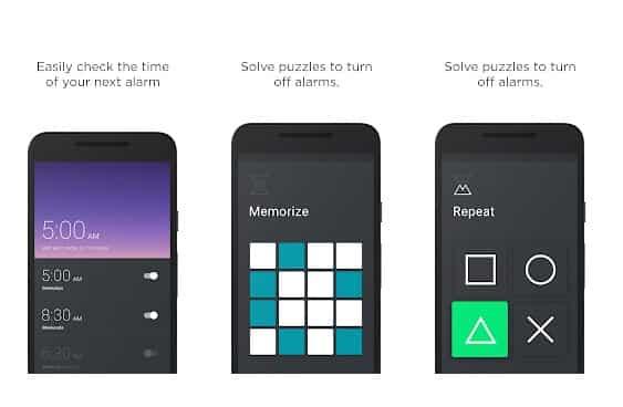 تطبيق Puzzle Alarm