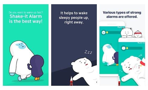 تطبيق Shake it Alarm
