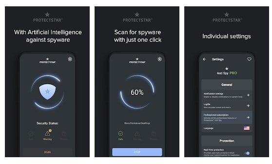 تطبيق Anti Spy & Spyware Scanner