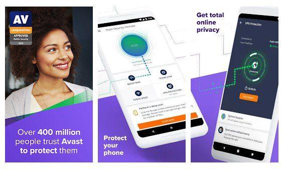 تطبيق Avast Antivirus