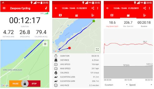 تطبيق Cycling - Bike Tracker