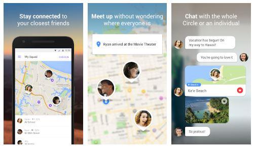 تطبيق Find My Friends