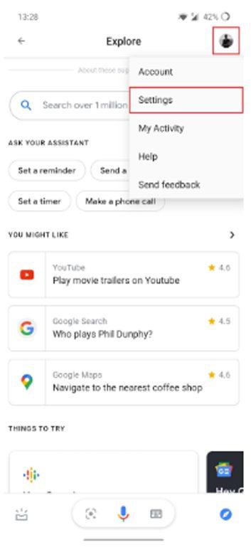 تغيير صوت مساعد جوجل الصوتي 2