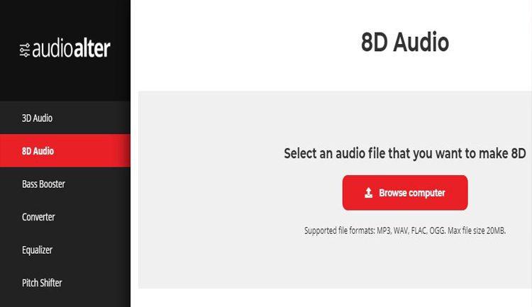 موقع audioalter
