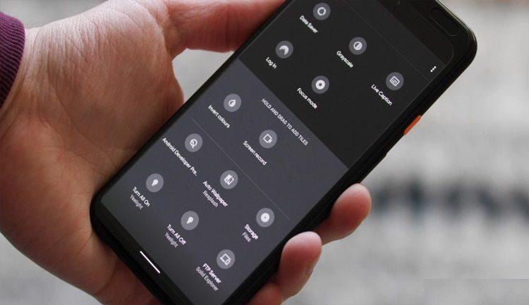 ميزة تسجيل الشاشة من خلال أيقون شريط الاشعارات