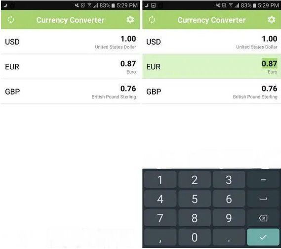 تطبيق Valuta+ Currency Converter