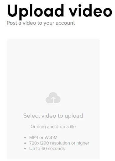 رفع فيديو الى تيك توك الحاسوب 4-min