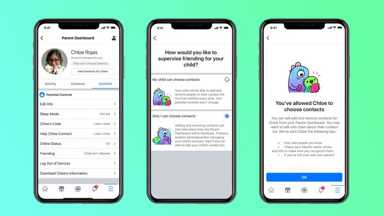 فيسبوك تطلق أول تطبيق محادثة مخصص للأطفال لأكثر من 70 دولة