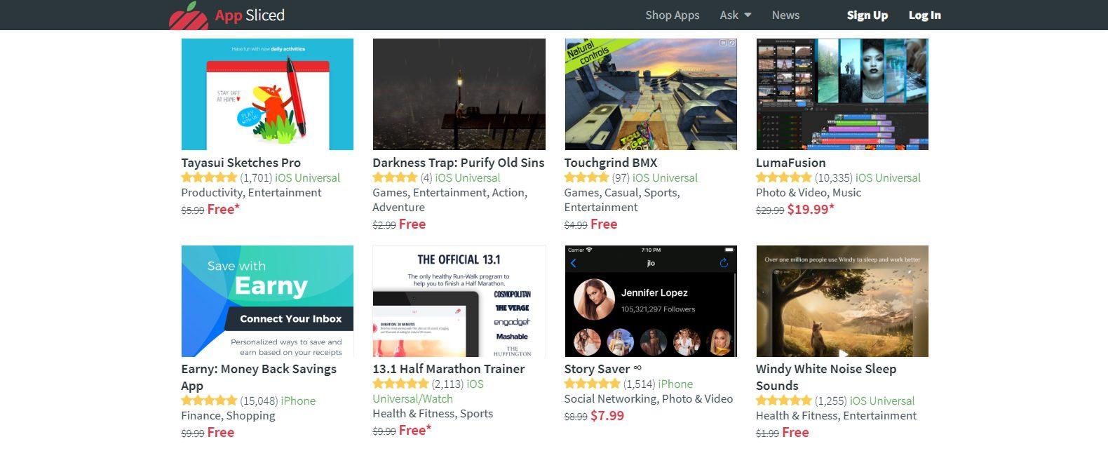 أفضل 3 مواقع لمتابعة أخر عروض وتخفيضات تطبيقات وألعاب الأيفون والأيباد