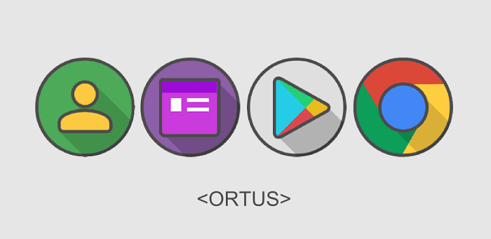تطبيق Ortus Square Icon Pack-min تطبيقات أندرويد لتخصيص أيقونات التطبيقات