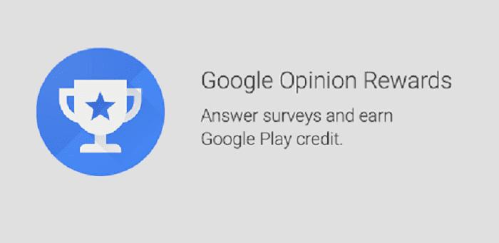 موقع Google Opinion Rewards بطاقات جوجل بلاي ورصيد PayPal.