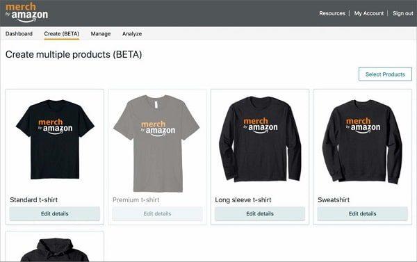 موقع Merch by Amazon ربح المال من خلال تصميم التيشرتات