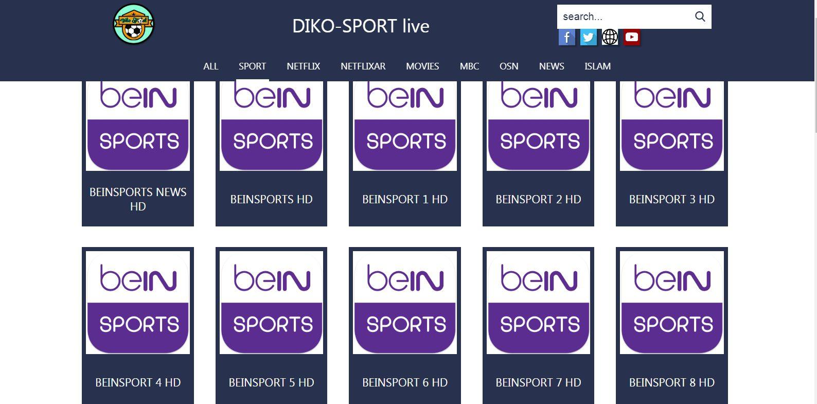 قنوات Bein Sports
