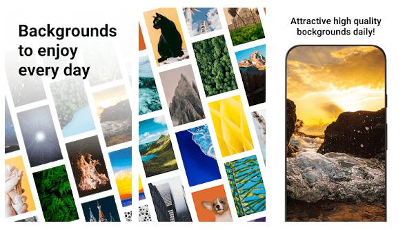 تطبيق Backgrounds HD