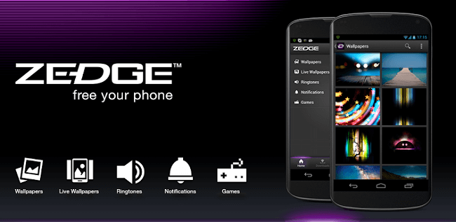 تطبيق ZEDGE