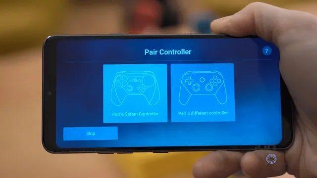 لعب ألعاب ستيم عبر هاتف الأندرويد 2