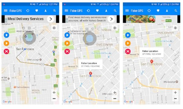 تطبيق Fake GPS Run تغيير الموقع الجغرافي في الهاتف