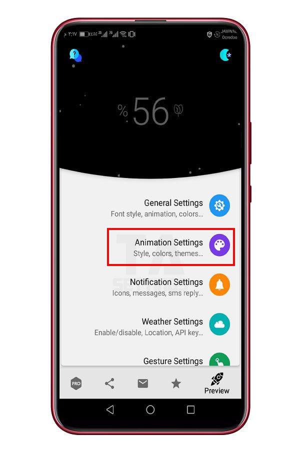 أضف هذا التأثير الرائع عند شحن هاتفك الأندرويد 1