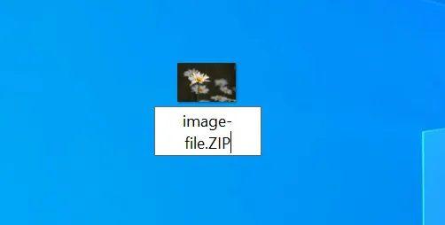 إظهار الملفات المخفية داخل الصورة