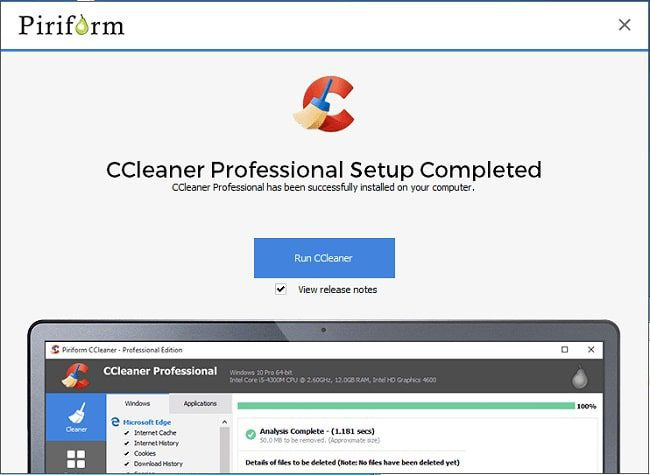 حذف الملفات المكررة باستخدام برنامج CCleaner 1