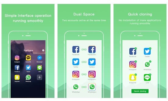 تطبيق Dual Space
