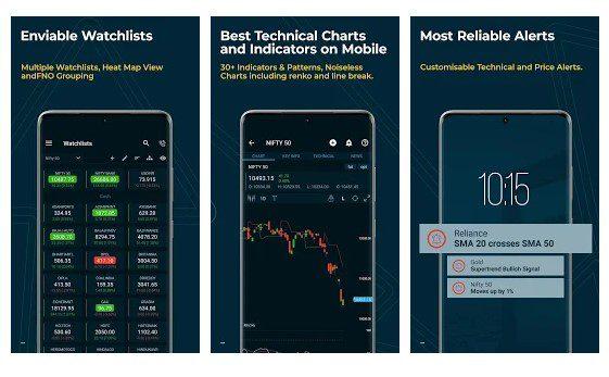 تطبيق Stock Chart, Screener, Trading أبرز 4 تطبيقات تستخدم في تداول العملات