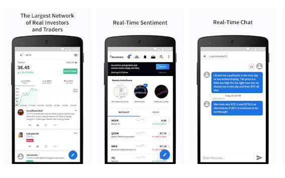 تطبيق StockTwits أبرز 4 تطبيقات تستخدم في تداول العملات