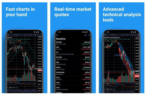تطبيق TradingView