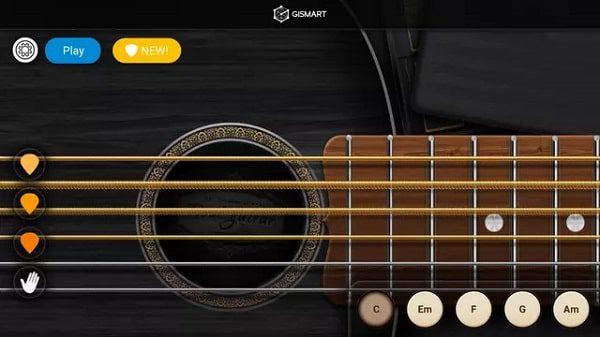 تطبيق Real Guitar