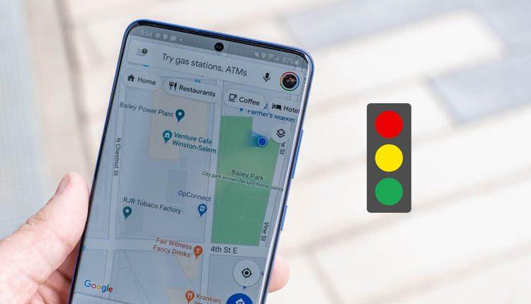 جوجل تضيف إشارات المرور الى تطبيقها Google Map على انظمة أندرويد