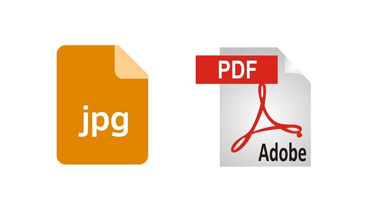 كيفية تحويل الصور الى ملف pdf
