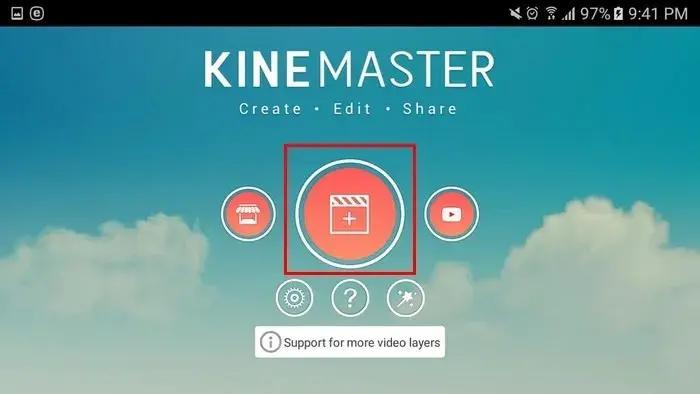 كيفية قص الفيديوهات كين ماستر