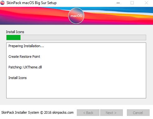 تحويل شكل ويندوز 10 إلى شكل نظام ماك 2