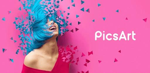 1) تطبيق PicsArt