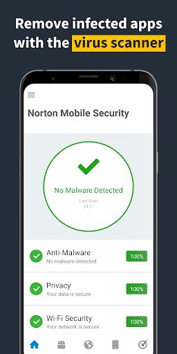 تطبيق NorTon للأندرويد