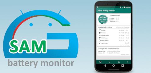 تطبيق GSam Battery Monitor