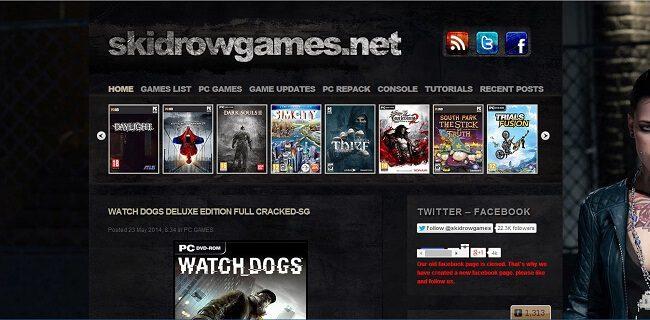 موقع Skidrow Games