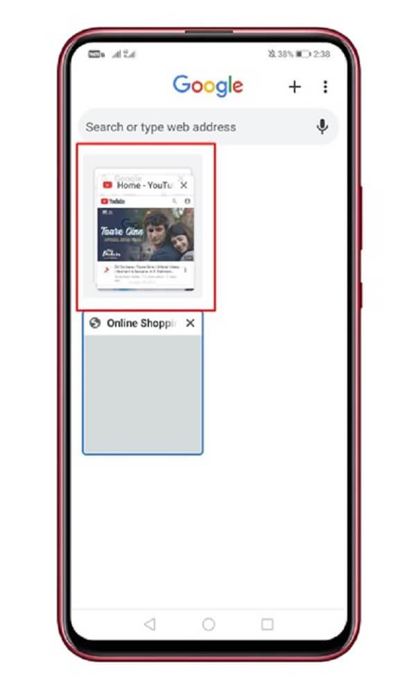 إضافة شريط التبديل بين المواقع في متصفح جوجل كروم 1