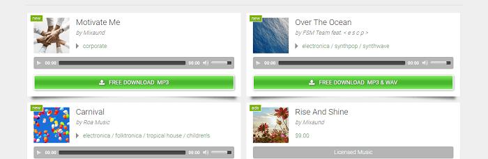 موقع Free Stock Music