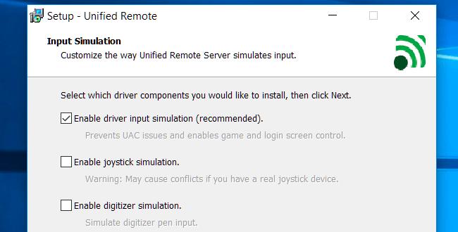 برنامج Unified Remote website 1