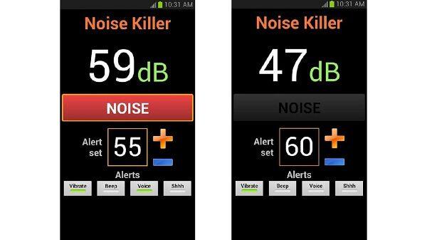 تطبيق Noise Killer تطبيقات لإزالة الضوضاء من الصوت