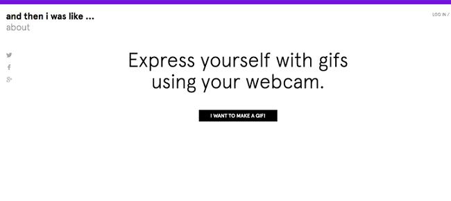 موقع And then i was like أدوات لتحويل أي فيديو إلى صورة متحركة Gif
