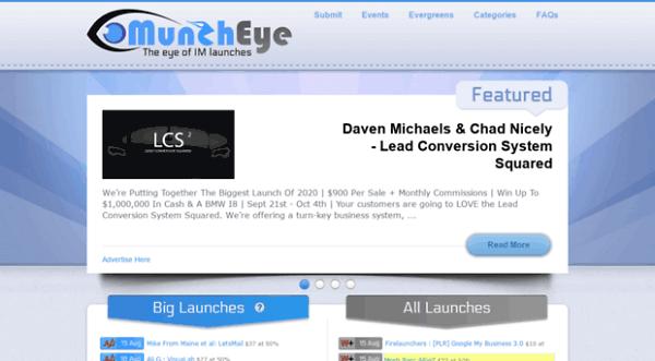 أداة Muncheye التسويق الالكتروني