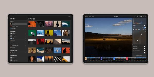 تطبيق Pixelmator تطبيقات لإزالة أي جزء من الصورة