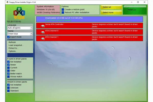 برنامج Snappy Driver Installer