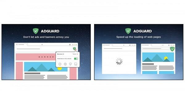 """إضافة AdGuard AdBlocker إضافات لمتصفح جوجل كروم منع الإعلانات في متصفح كروم """"AdGuard """"AdBlocker"""