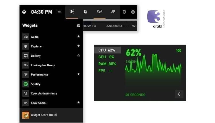 كيفية تفعيل عداد FPS لعرض كفاءة كرت الشاشة اثناء اللعب على ويندوز 10